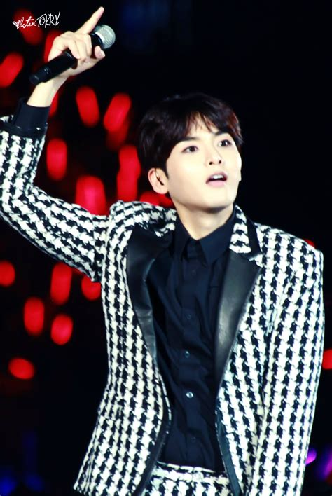 Junior Smtown 3 Fan 141018 smtown world tour iv in shanghai with ryeowook and kyuhyun 6p
