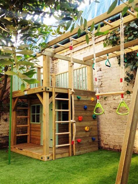 Backyard Playset Ideas 25 Best Ideas About Outdoor Playset On Pinterest