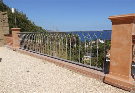 barandilla acero galvanizado precio barandilla en acero galvanizado en barcelona