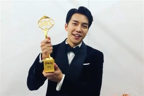 lee seung gi grand prize watch lee seung gi breathlessly thanks fans and viewers