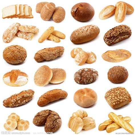 diversi tipi di pane 面包设计图 餐饮美食 生活百科 设计图库 昵图网nipic