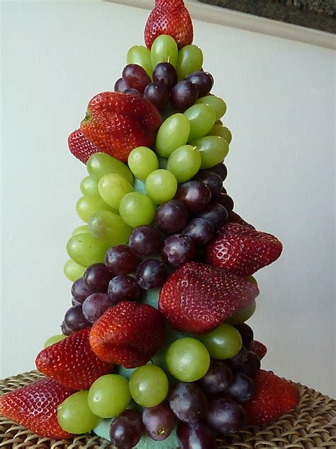 easy fruit topiary great edible centerpiece for a party
