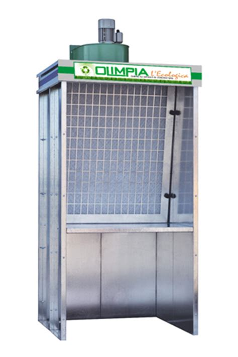 cabine di verniciatura a secco prodotti olimpia l ecologica