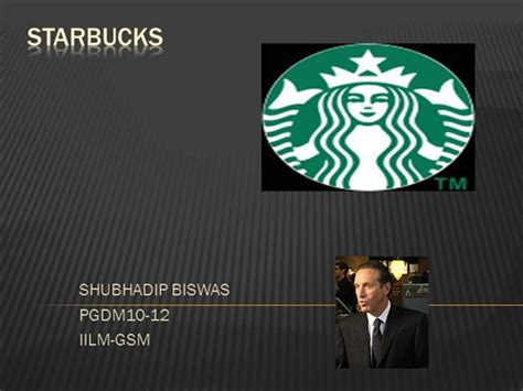 Starbucks Case Study Authorstream Starbucks Powerpoint Template