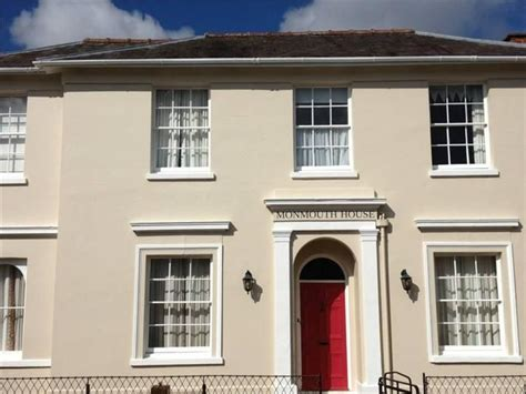 white exterior masonry paint walls in farrow and joa s white and farrow and