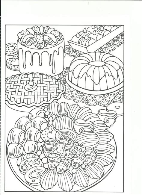 coloring pages for adults food beautiful looking food coloring pages for adults justcolor