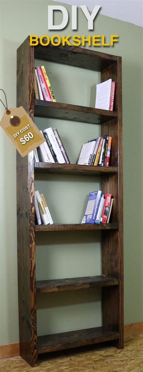 17 simple and amazing bookshelf plans