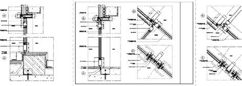 curtain wall detail cad curtain wall details dwg detail for autocad designs cad
