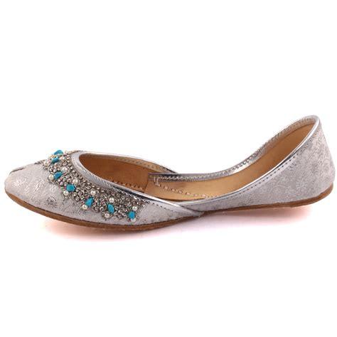 indian slippers unze matsya indian khussa slippers uk size 3 8