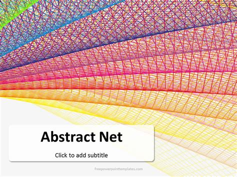 Free Abstract Net Powerpoint Template Free Abstract Powerpoint Templates
