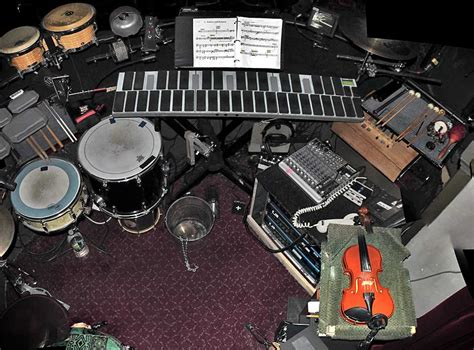theatre notes 01 05 10 01 06 10 peter and the starcatcher broadway deane prouty drum set and percussion setups from