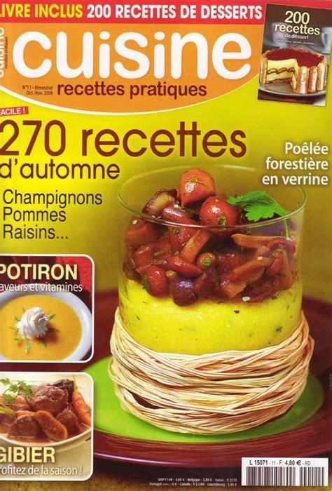 mag cuisine magazine 171 cuisine recettes pratiques