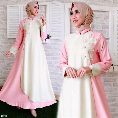 Gamis Remaja Masa Kini 2018 gamis terbaru yang fresh dan model model gamis terbaru 2018 gambar busana muslim 2018 duabatik