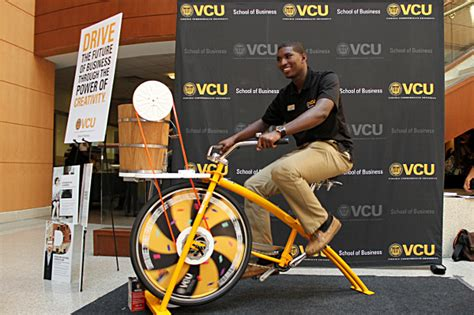 Mba Vcu Business by Bike Stirs Up Excitement For New School Of