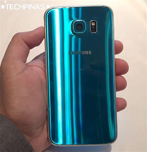 Samsung S6 Blue Topaz Samsung Galaxy S6 Blue Topaz In The Flesh Arriving In