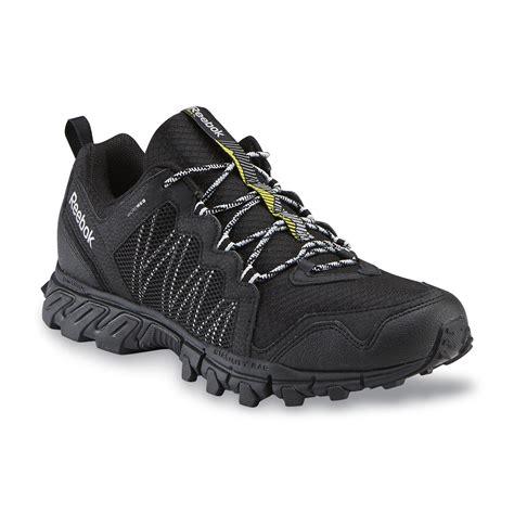 Handgrip Reebok reebok s trail grip rs 4 0 black gray green running shoe shop your way shopping
