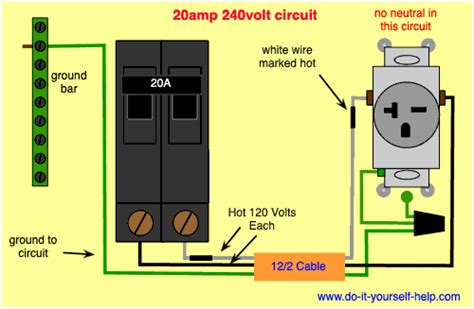 220 Air Conditioning Plug Wiring Diagram