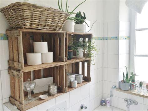 Badezimmer Regal Deko by Die Besten 17 Ideen Zu Weinkisten Auf Holzkisten