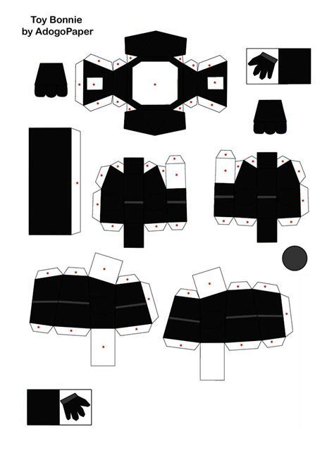 Shadow Papercraft - shadow bonnie papercraft update part2 by jackobonnie1983