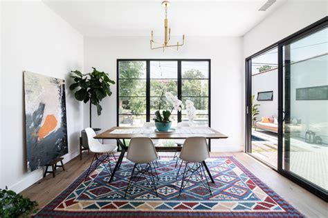 spanish modern mediterranean dining room los angeles