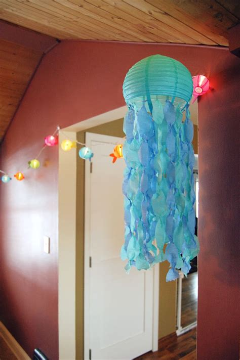 How To Make A Paper Jellyfish - best 25 jellyfish decorations ideas on
