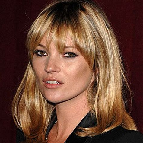 Kate Moss Gets A Fringe Will You Be Next Tips On Choosing The Style Fringe by 17 Best Images About Curtain Bangz On Bob