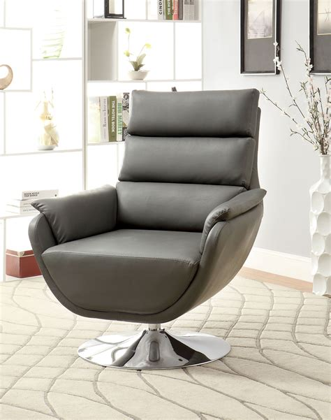 modern swivel chairs for living room furniture of america contemporary swivel accent chair