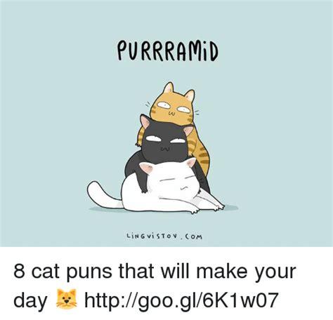 purrramid li   vi st     cat puns