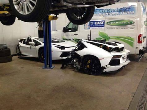 lamborghini aventador split in half lamborghini aventador split in half waiting inside a