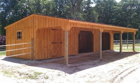 How To Build A Run In Shed For Horses by Run In Sheds Album Page 1 Gallery 2 0 Sunset Barns