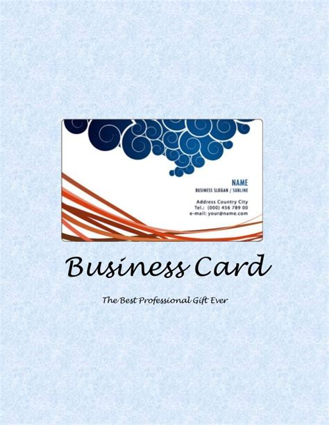 Coolest Gift Cards Ever - business card the best professional gift ever