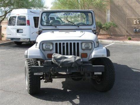 Jeep Wrangler For 5000 Find Used 1988 Jeep Wrangler Yj 2 5l 4 10 In Las Vegas