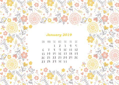 calendrier janvier  january  calendar la
