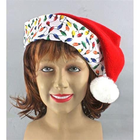 christmas hats with lights christmas tree lights santa hat santacon tree lights santa