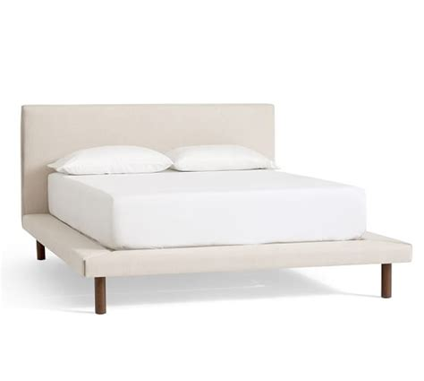 pottery barn platform bed welles upholstered platform bed pottery barn