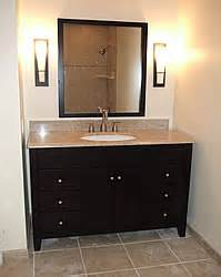 Vanity Lights On Side Of Mirror Small Bathroom Remodeling Fairfax Burke Manassas Remodel
