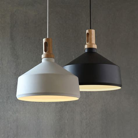 modern pendant lighting contemporary pendant light funnel wooden ceiling lighting