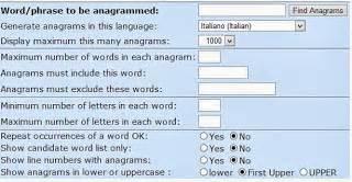 anagramma lettere come fare anagramma delle parole