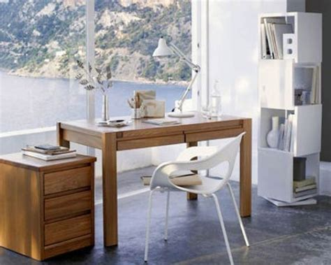 Simple Modern Home Office Desk Ideas Beautiful Homes Design Décoration De Bureau