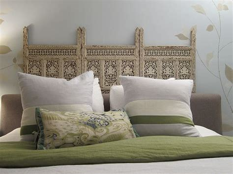 Carved Wood Headboard Wood Screen Headboard Looking For Carved Indian Panels Try Www Bringingitallbackhome Co Uk