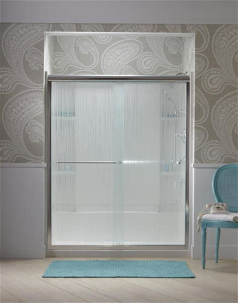 sterling bypass shower door sterling finesse frameless by pass shower door at menards 174
