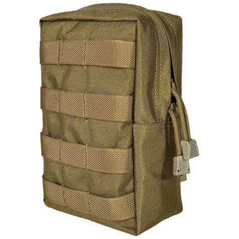 discount molle pouches flyye vertical accessories pouch molle coyote brown