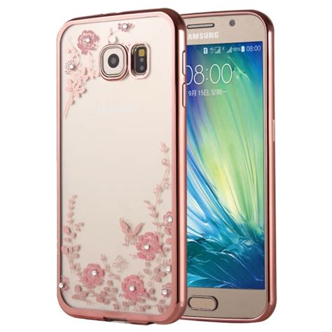 Samsung Galaxy A5 2016 A510 Soft Cover Casing Karakter flowers patterns electroplating soft tpu protective cover for samsung galaxy a5 2016
