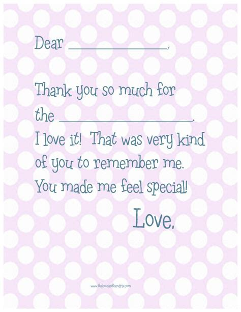 printable thank you cards fill in the blank 17 best images about printable thank you notes on