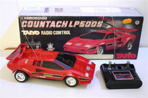 Lamborghini Countach Rc Car Taiyo Lamborghini Countach Lp500s Vintage Radio