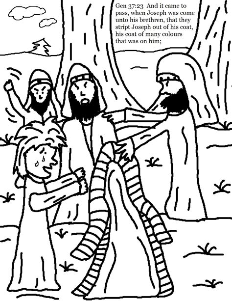 Joseph And His Coat Coloring Page Coloring Pages Joseph Coat Of Many Colors Coloring Page