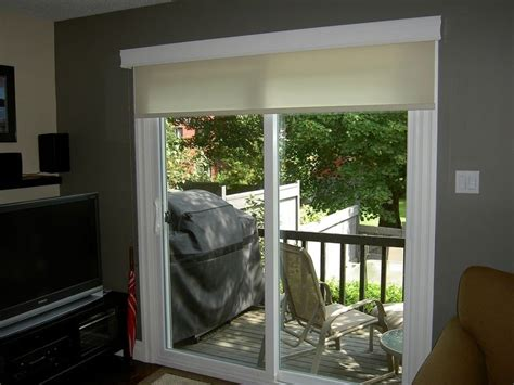 Patio Door Roller Shades Best 25 Sliding Door Shades Ideas On Sliding