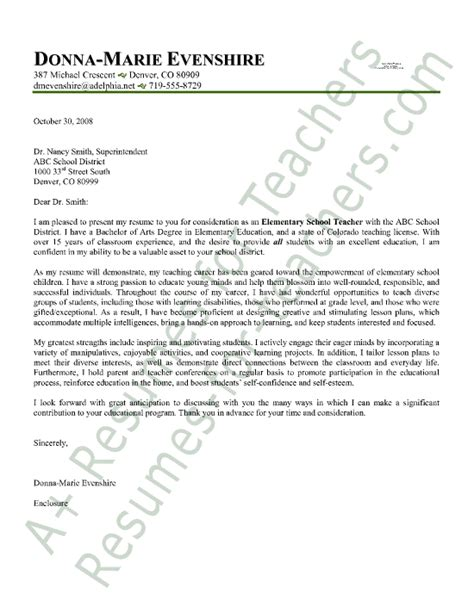 teaching cover letters with experience cover letter for teachers with experience letter of