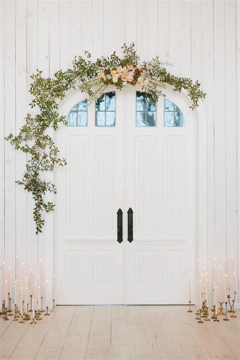 Wedding Arch Decor Diy by Diy Floral Doorway Arch Diy Wedding Decor 100 Layer Cake