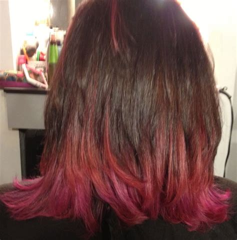 kids with ombre hair pink ombre highlights latest hair color trend